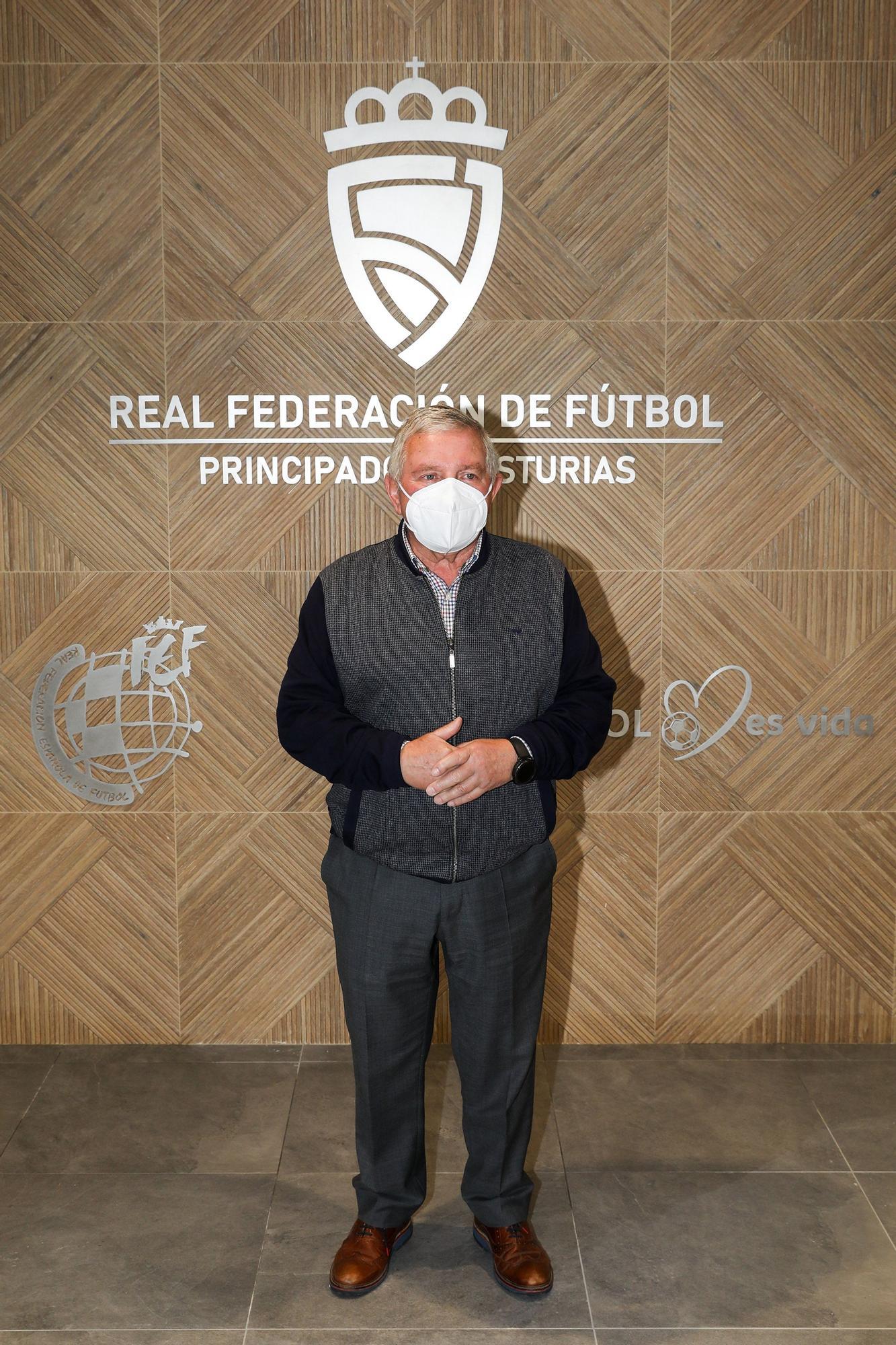 Inauguración de la nueva sede de la Federación Asturiana de Fútbol