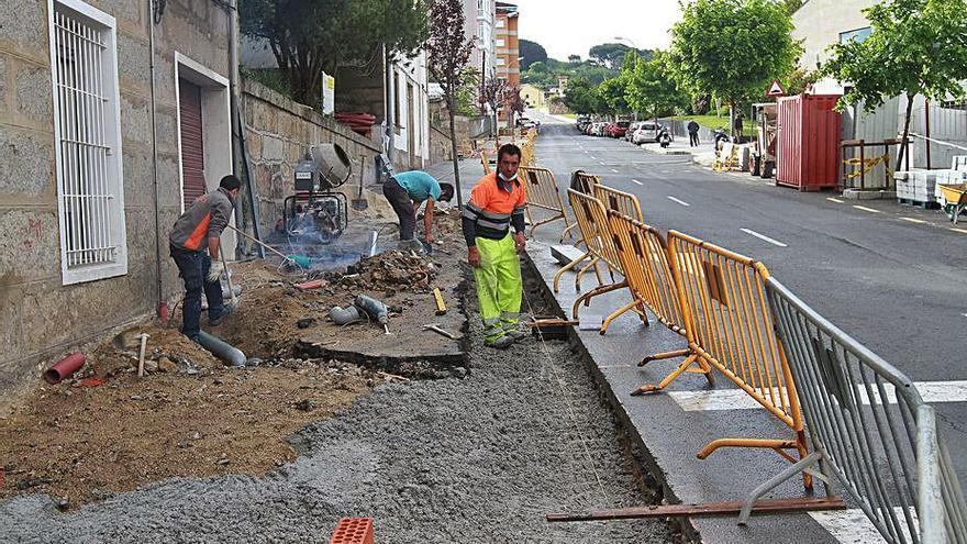 Comienzan las obras de adecuación de accesos al Parque de Montealegre y a los huertos urbanos