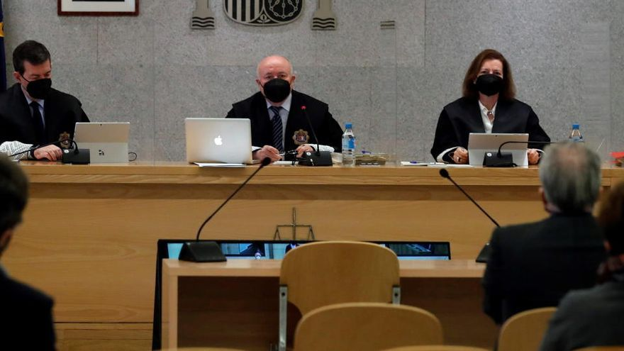 L'Audiència Nacional demana a Suïssa que desbloquegi comptes de Bárcenas, Correa, Crespo i Yánez per pagar condemna