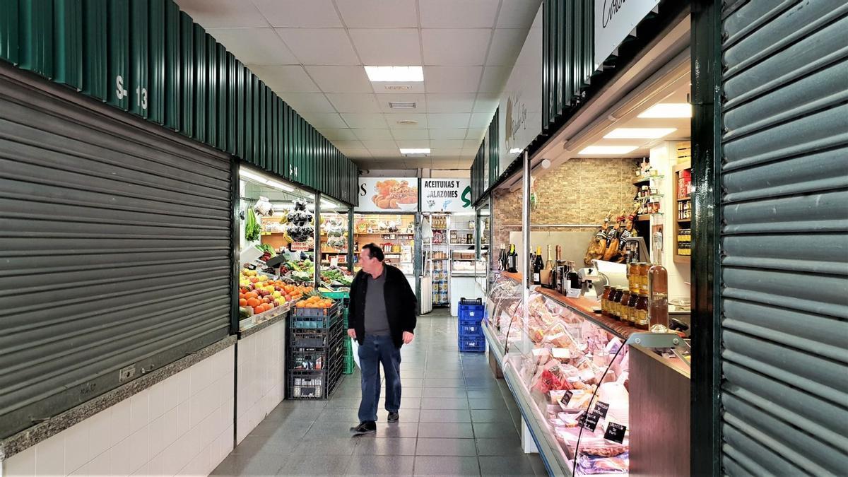 Una imagen de archivo del Mercado de Crevillent