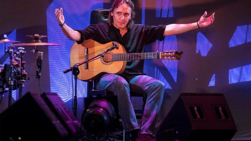 El disco 'Tierra' centrará la actuación de Vicente Amigo en la Mezquita