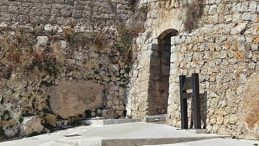 Es Soto Fosc, la puerta escondida de las murallas