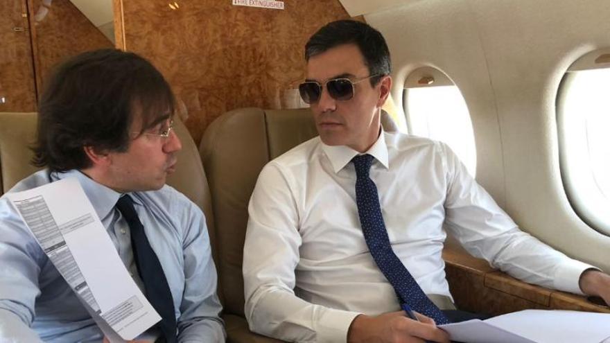El PP quiere que el Tribunal de Cuentas fiscalice el uso que Sánchez hace del Falcon