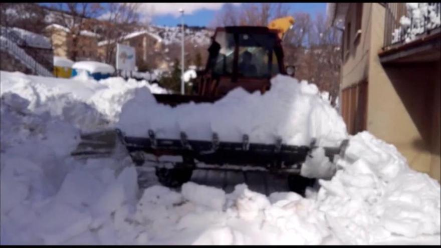 Mig milió en ajudes als ajuntaments berguedans afectats per la nevada