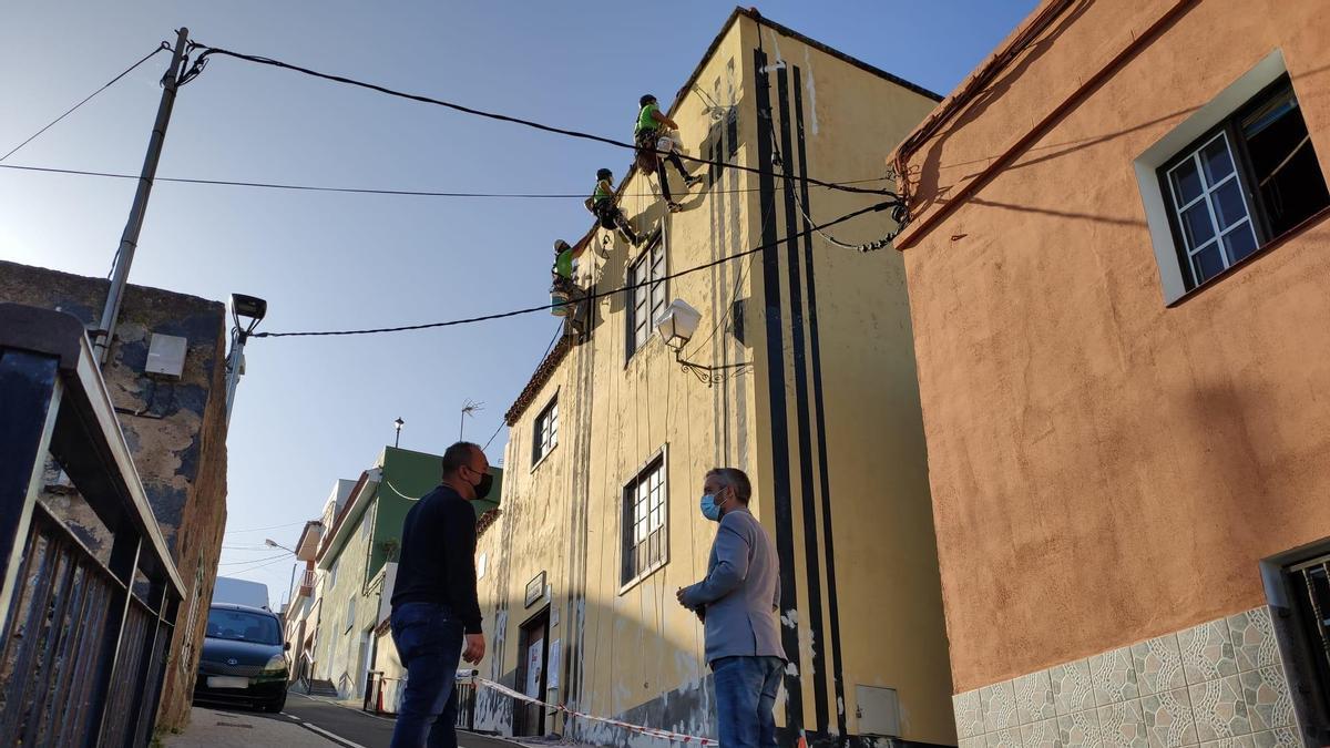 Mejora de la fachada de la Casa Amarilla