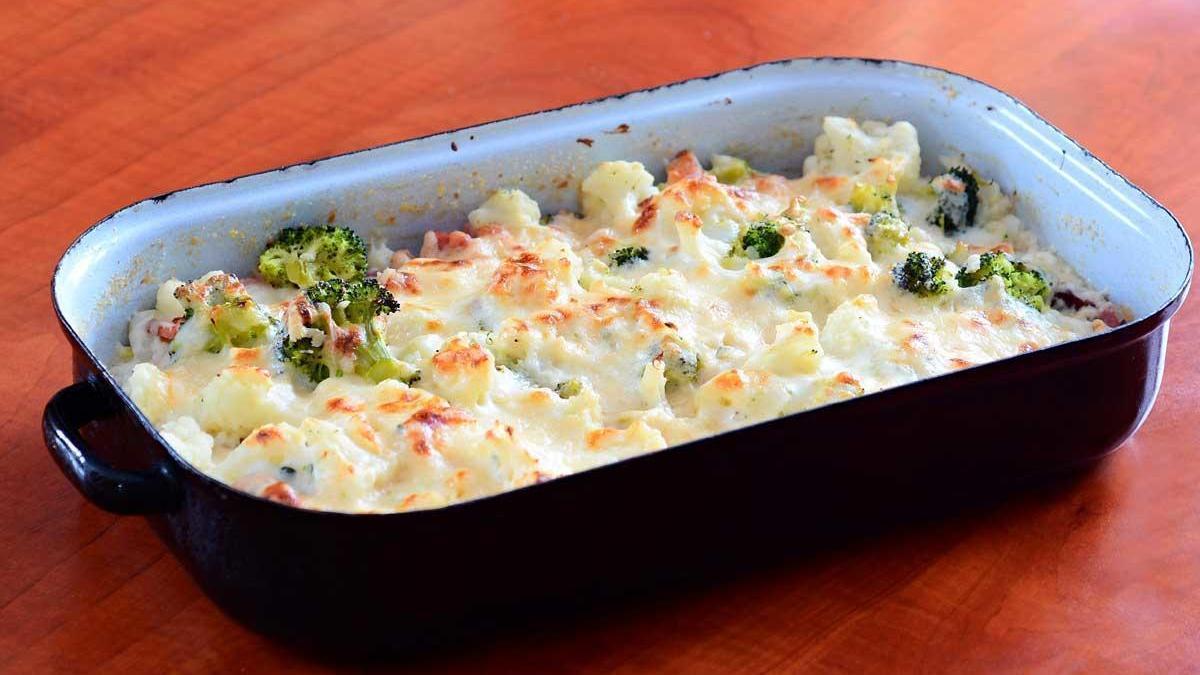 Brócoli gratinado.