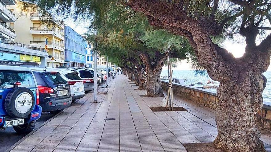 L'Escala projecta reordenar el tram litoral del passeig Lluís Albert