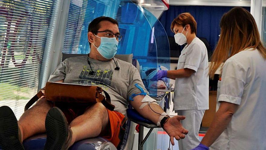 Coronavirus en Zamora | Donar sangre en tiempos difíciles