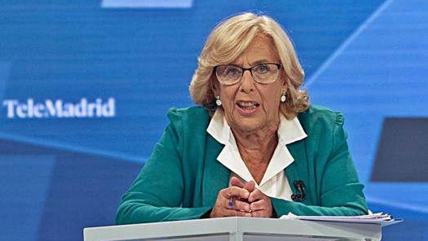 Carmena creu que no serà alcaldessa perquè «Cs tornarà a pactar amb Vox»