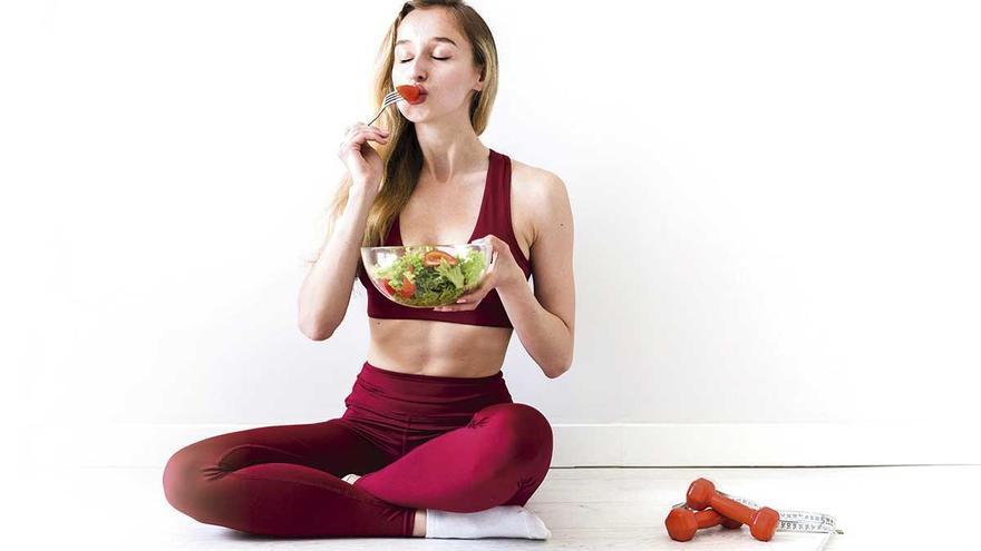 Rutina deportiva y alimentación en verano