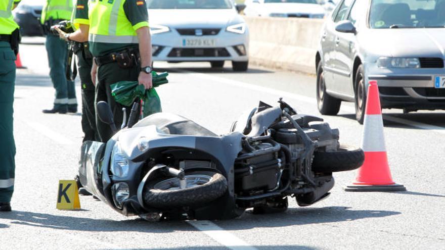 Los tramos más peligrosos para motoristas
