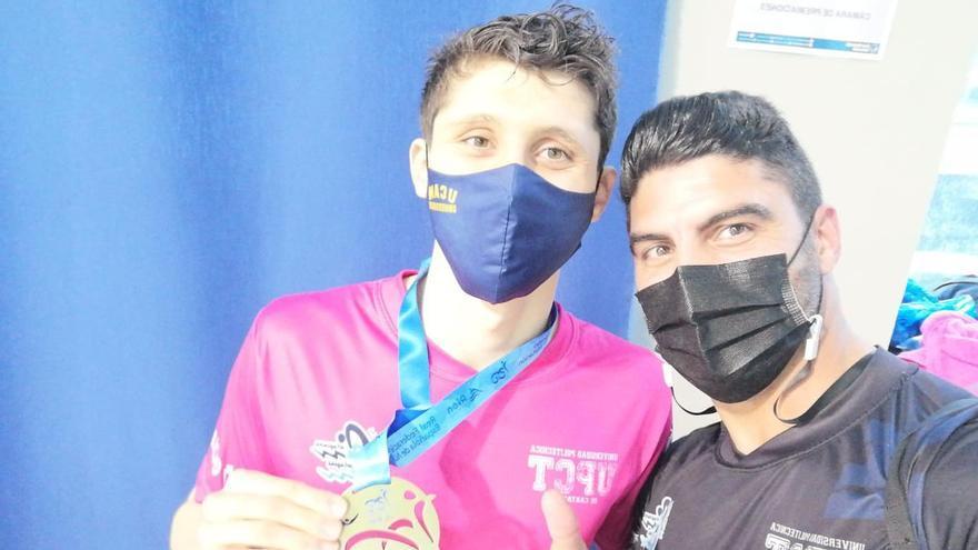 El cartagenero Alejandro Puebla, campeón de España absoluto joven