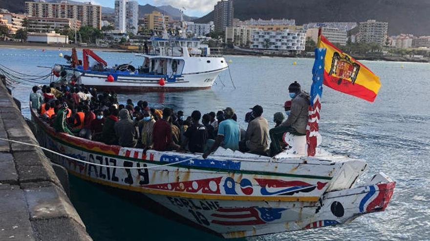 227 migrantes africanos piden asilo en la provincia tinerfeña desde septiembre