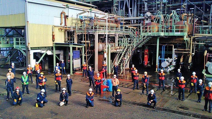 La refinería de Repsol realiza un simulacro de emergencia