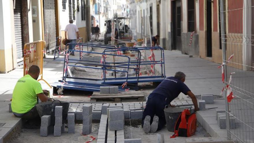 Inician la pavimentación del eje Realejo-San Lorenzo pero se retrasa la segunda fase de tráfico