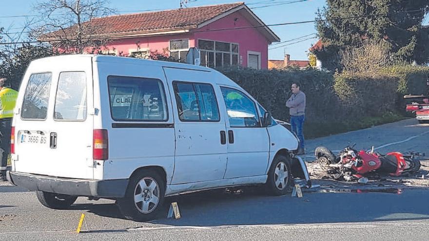 Condenan a dos años y medio de cárcel al conductor que arrolló mortalmente a un motorista en Oviedo
