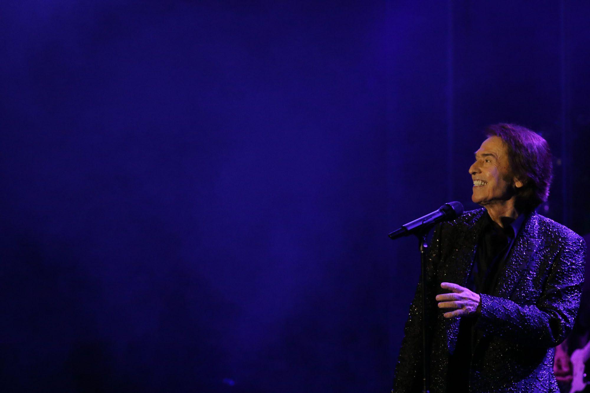Las imágenes del segundo concierto de Raphael en el Starlite Festival de Marbella de 2021.