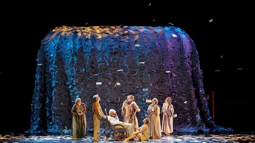 El 'Año Galdós' culmina en el teatro al que da nombre con tres homenajes