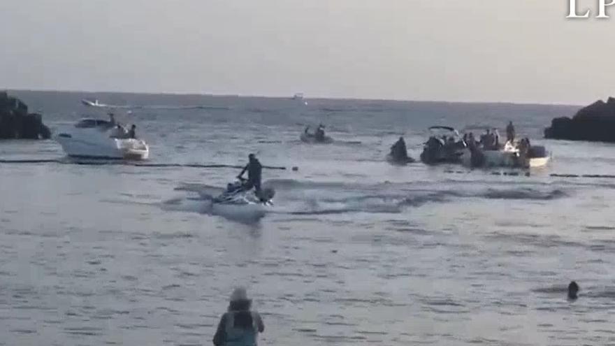 Varias embarcaciones alteran el orden público en Puerto Rico