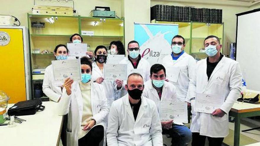 Nueva promoción de técnicos de laboratorio para la Escuela Láctea
