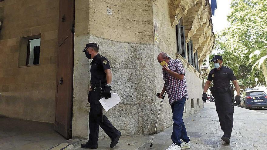 Condenado a cuatro años de cárcel por intentar matar a su exmujer en Palma