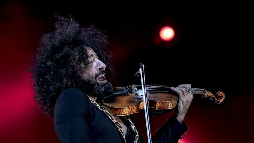 Ara Malikian presenta en el Trui Teatre su esperado disco 'Petit Garage'