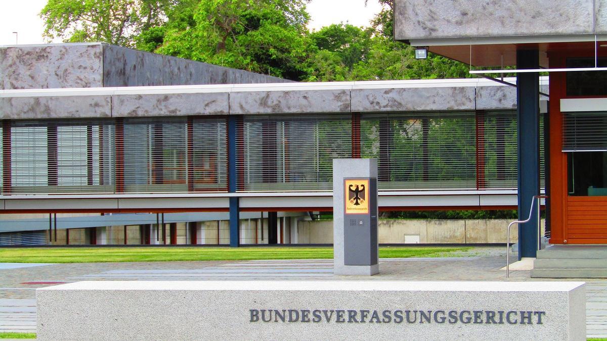 Sede del Tribunal Constitucional Federal de Alemania.