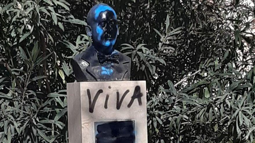 Escultura dedicada a Emili Darder, último alcalde republicano de Palma