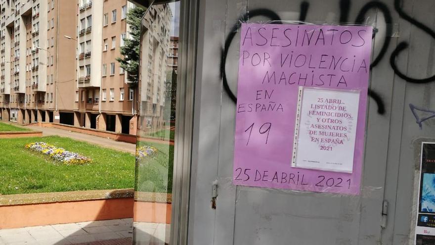 Trece Rosas Zamora reivindica el fin de la violencia machista y empapela la ciudad con los nuevos asesinatos