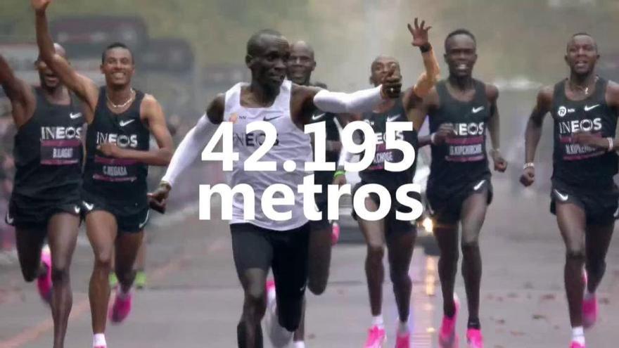 Kipchoge baja de las dos horas en un maratón no oficial