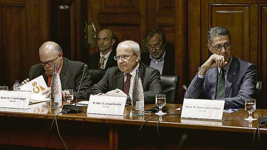 """El senador José Montilla: """"No quiero ni una declaración de independencia ni el 155"""""""
