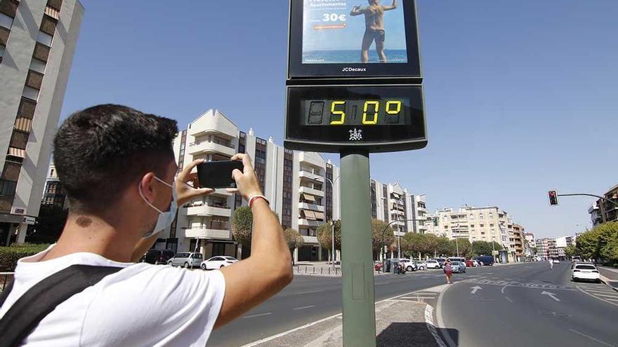 Córdoba cerró julio con una temperatura media de 30,7 grados, la más alta de Andalucía