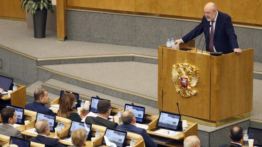 La Duma aprueba la reforma constitucional de Putin