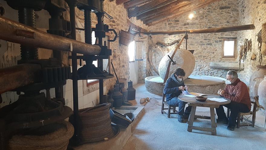 Nuevo impulso para el museo etnológico de l'Almàssera dels Moltó d'Alpatró, en la Vall de Gallinera