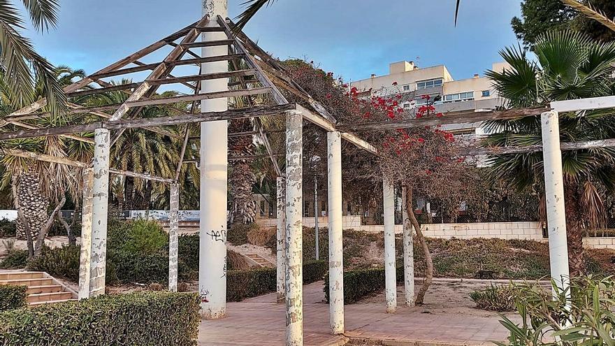 El Campello solo destina a mantenimiento de jardines 200.000 € pese a necesitar 900.000
