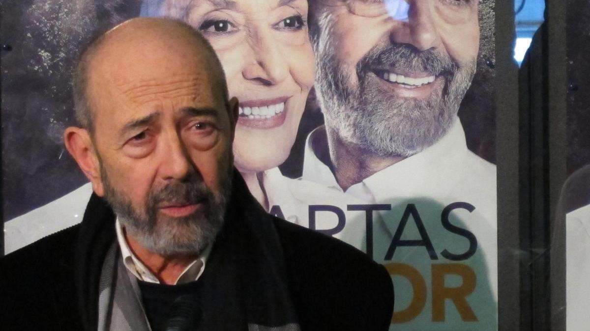 Miguel Rellán fue hospitalizado por Covid-19.