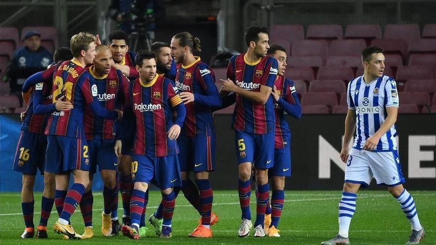 El Real Sociedad-Barcelona se jugará a las 21.00 horas en El Arcángel