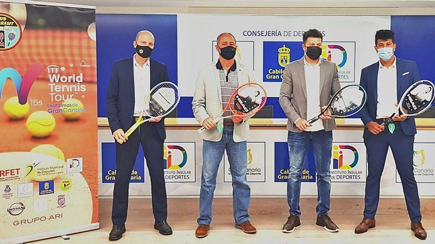 El Tamarasit reúne a tenistas de más de 50 nacionalidades