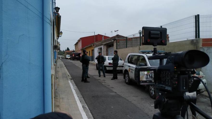 El presunto asesino de Marta, en el escenario del crimen