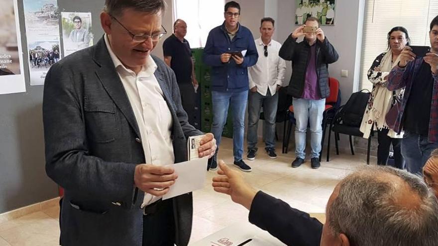 """Ximo Puig: """"Hoy es un día de alegría democrática"""""""