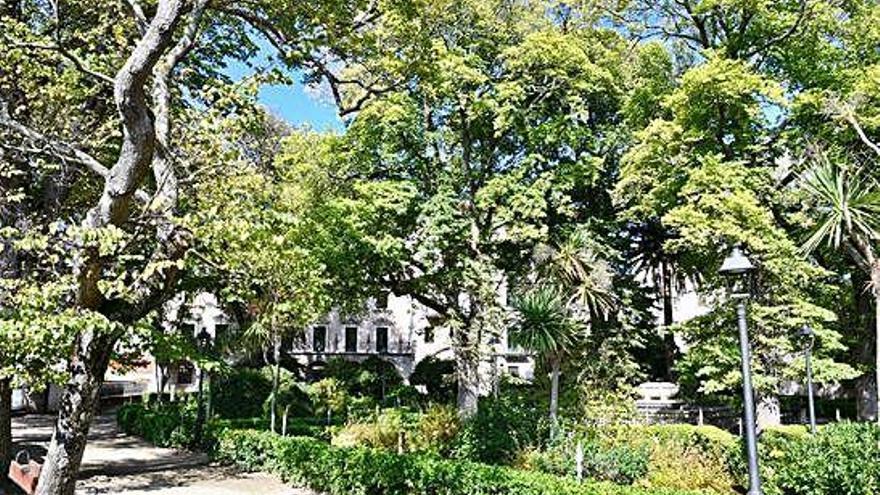 La reforma del jardín de San Carlos incluye la recuperación de su diseño histórico