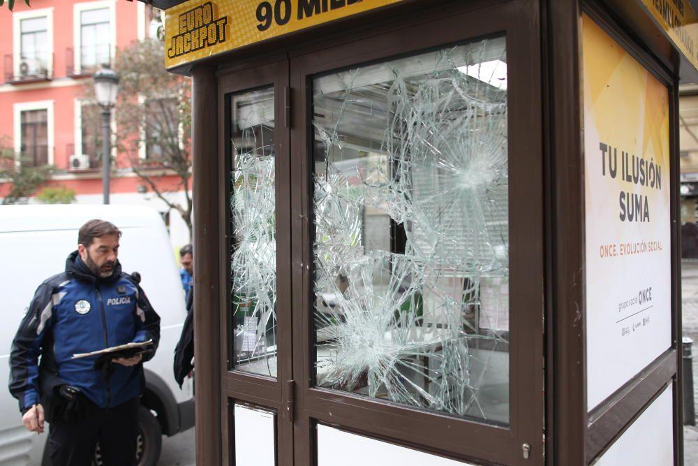 Disturbios en el madrileño barrio de Lavapiés