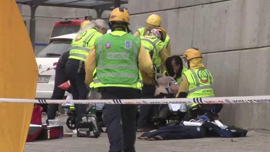 Explosió a Madrid