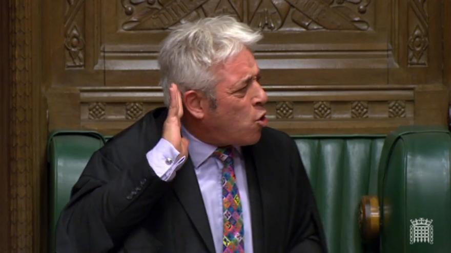 El ex presidente del Parlamento británico que se imponía al grito de 'order, order', se pasa al Partido Laborista