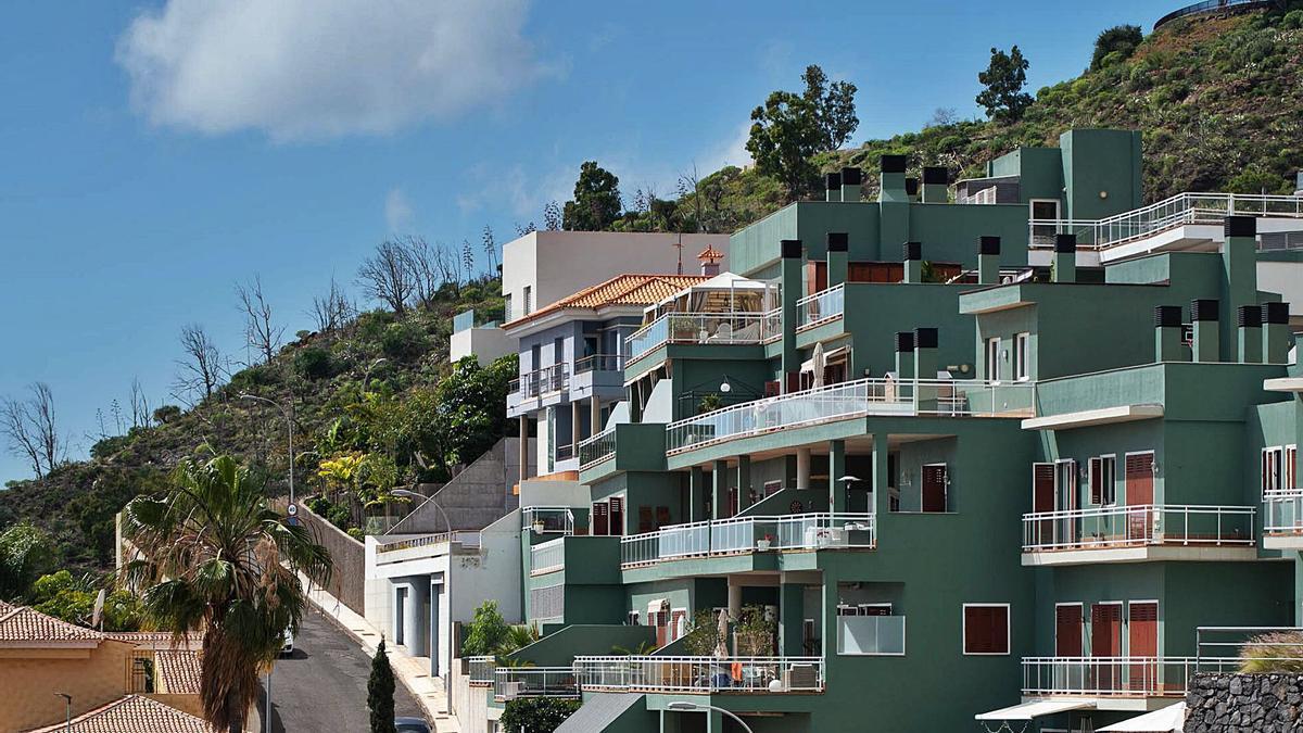 Una vista general del barrio de Ifara-Las Mimosas. | | CARSTEN W. LAURITSEN