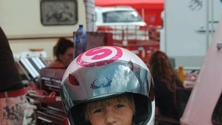 De niño a estrella del motociclismo: Sergio García se hace mayor