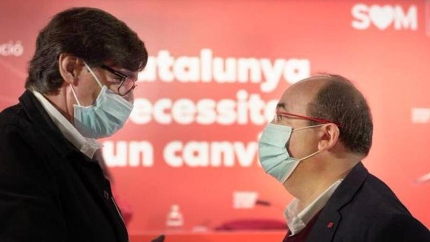 El PSC exige al Govern garantizar las elecciones catalanas para el 14-F