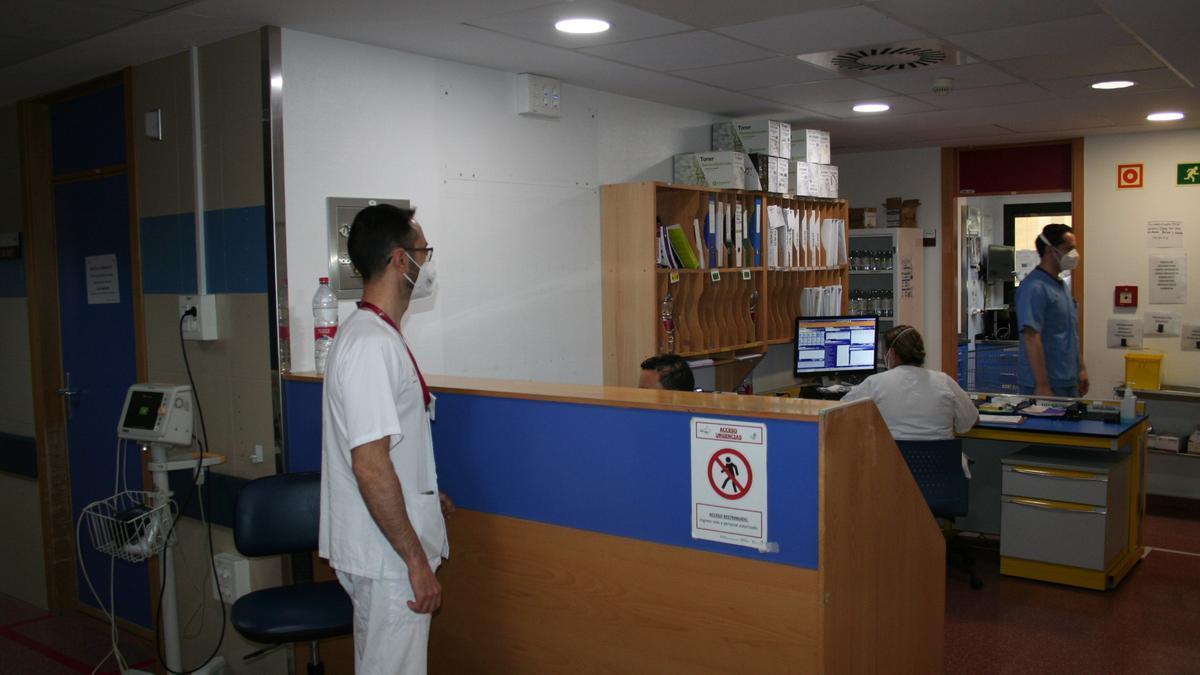 Control del Servicio de Urgencias del Rafael Méndez.