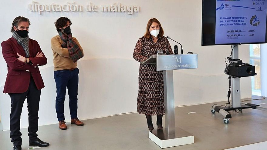 La Diputación de Málaga destina 61 millones en ayudas sociales frente al Covid