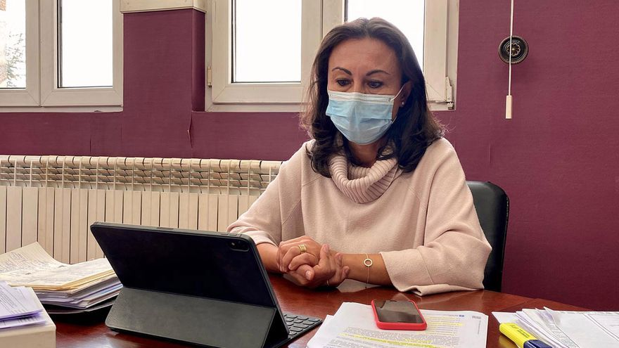 La alcaldesa de Marín, en cuarentena por el positivo de uno de sus hijos